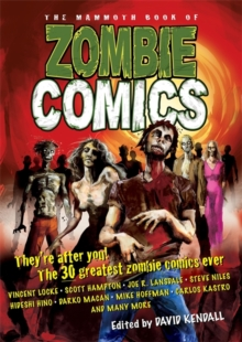 The Mammoth Book of Zombie Comics, Paperback Book