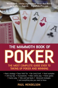 The Mammoth Book of Poker, Paperback