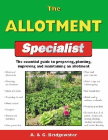 The Allotment Specialist, Paperback