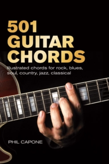 501 Guitar Chords : Illustrated Chords for Rock, Blues, Soul, Country, Jazz, Classical, Spanish, Spiral bound