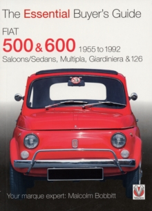 Fiat 500 and 600, Paperback