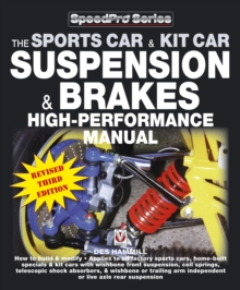 How to Build and Modify Sportscar and Kitcar Suspension and Brakes : For Road and Track, Paperback