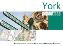 York PopOut Map, Sheet map, folded