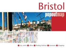 Bristol Popout Map, Sheet map, folded