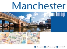 Manchester Popout Map, Sheet map, folded Book