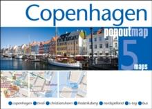 Copenhagen PopOut Map, Sheet map, folded