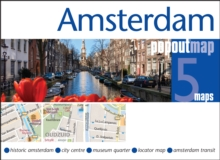 Amsterdam PopOut Map, Sheet map, folded