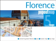 Florence Popout Map : Handy Pocket Size Pop Up City Map of Florence, Sheet map, folded