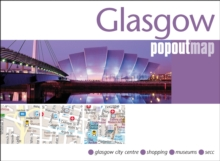 Glasgow Popout Map, Sheet map, folded