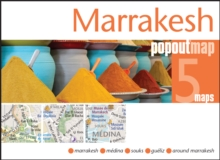 Marrakesh Popout Map : Handy Pocket Size Pop Up City Map of Marrakesh, Sheet map, folded