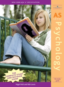 AS Level Psychology : The Study Guide, Paperback Book