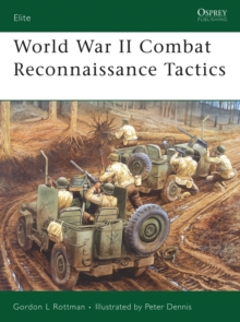 World War II Combat Reconnaissance Tactics, Paperback Book