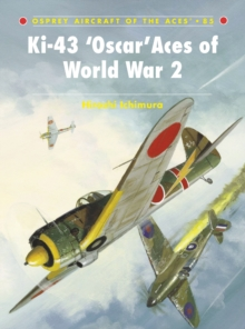 Ki-43 Oscar Aces of World War 2, Paperback