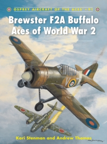 Brewster F2A Buffalo Aces of World War 2, Paperback Book