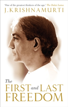 The First and Last Freedom, Paperback