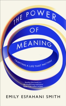 The Power of Meaning : Crafting a Life That Matters, Hardback