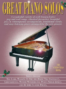 Great Piano Solos - The Christmas Book, Paperback Book