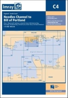 Imray Chart C4 : Needles Channel to Bill of Portland, Sheet map, folded
