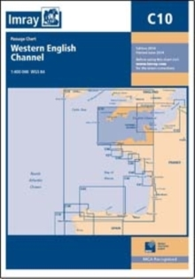 Imray Chart C10 : Western English Channel Passage Chart, Sheet map, folded