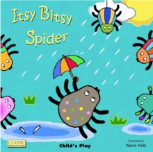 Itsy Bitsy Spider, Board book