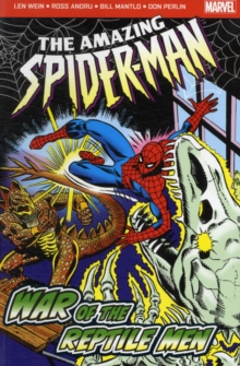 The Amazing Spider-Man: War of the Reptile Men, Paperback