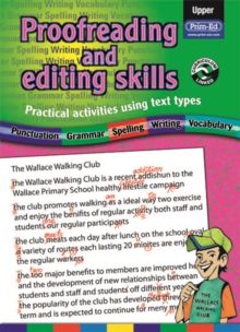 Proofreading and Editing Skills : Practical Activities Using Text Types Upper, Paperback