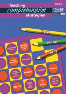 Teaching Comprehension Strategies : Developing Reading Comprehension Skills Bk. F, Mixed media product Book