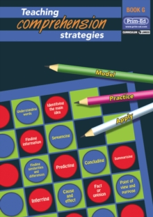 Teaching Comprehension Strategies : Developing Reading Comprehension Skills Bk. G, Mixed media product