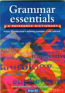 Grammar Essentials : A Reference Dictionary, Paperback Book