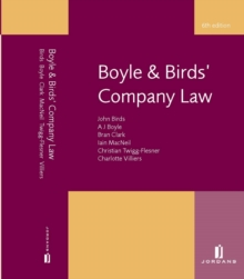 Boyle and Birds' Company Law, Paperback