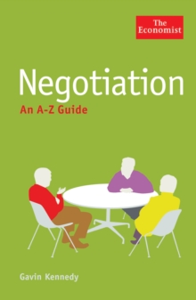 The Economist: Negotiation: An A-Z Guide, Paperback