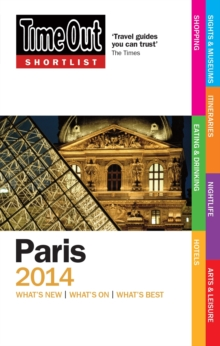 Time Out Shortlist Paris 2014, Paperback