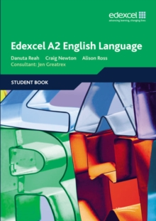 Edexcel A2 English Language Student Book, Paperback