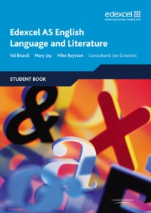 Edexcel AS English Language and Literature : Student Book, Paperback