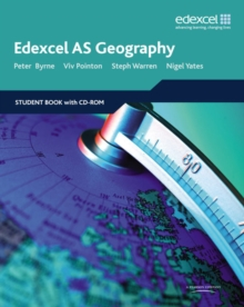 Edexcel AS Geography : Student Book and Student CD-ROM, Mixed media product Book