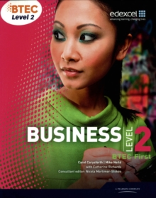 BTEC First Business : Student Book Level 2, Paperback