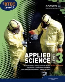 BTEC Level 3 National Applied Science Student Book : Level 3, Paperback
