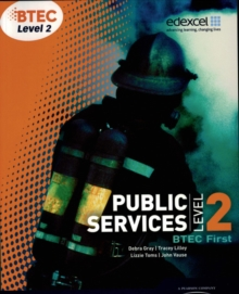 BTEC Level 2 First Public Services Student Book, Paperback Book
