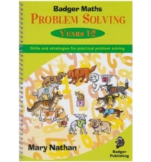 Badger Maths Problem Solving : Years 1-2, Spiral bound Book
