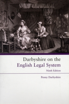 Darbyshire on the English Legal System, Paperback