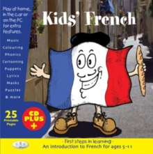 Kids' French : First Steps in Learning, CD-Extra