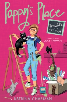 Trouble at the Cat Cafe, Paperback