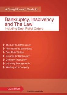 Bankruptcy, Insolvency and the Law : Including Debt Relief Orders, Paperback Book