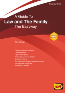 Easyway Guide to Family Law, Paperback Book