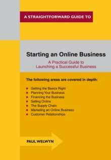 Starting an Online Business : A Straightforward Guide, Paperback