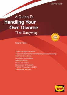 Handling Your Own Divorce : The Easyway, Paperback