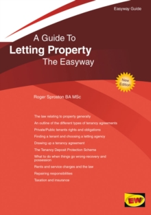 Letting Property : The Easyway, Paperback