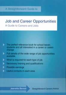 Job and Career Opportunities : A Straightforward Guide, Paperback