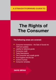 A Straightforward Guide to the Rights of the Consumer, Paperback