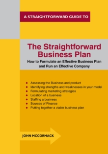 The Straightforward Business Plan, Paperback